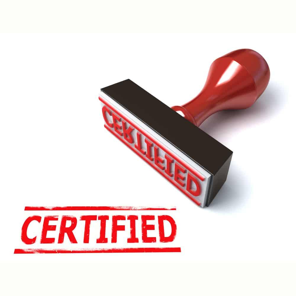 Electrical Engineering Certificates